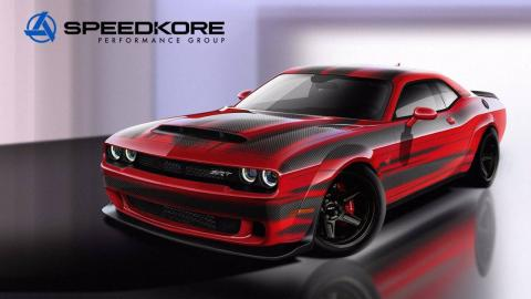 Dodge Challenger SRT Demon SpeedKore