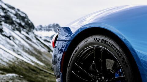 Ford GT en los Alpes austriacos