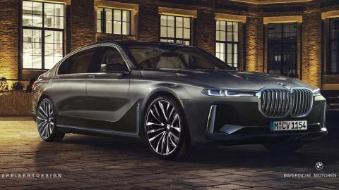 Futuro BMW Serie 7 Peisert Design photoshop