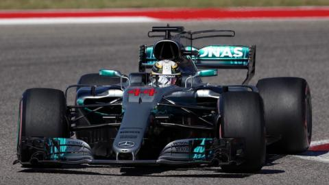 Lewis Hamilton gana en Austin