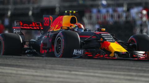 Max Verstappen, en el GP de EEUU