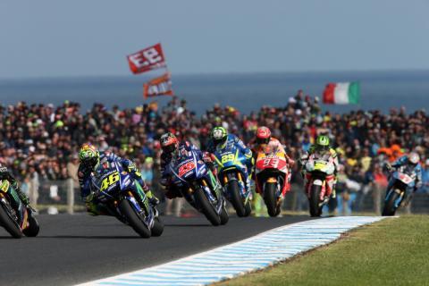 MotoGP Australia 2017: un duelo de tipos duros
