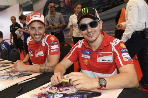 ¿Órdenes de equipo en Ducati durante el GP de Malasia?