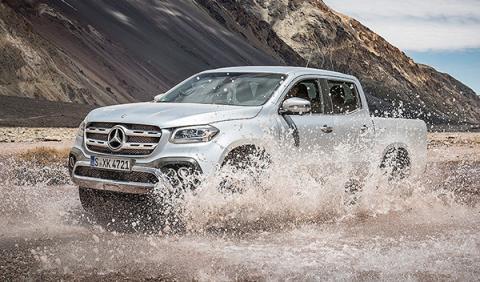 Prueba del Mercedes Clase X