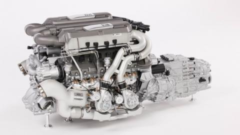 Réplica Motor Bugatti Chiron