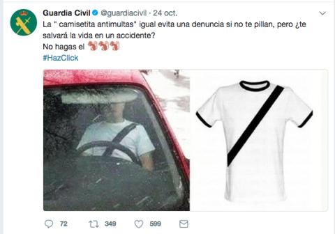 Tuit camiseta antimultas