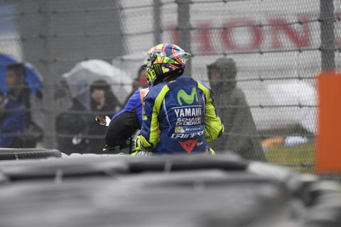 Vídeo: Valentino Rossi y la curva 8 de Motegi, una relación de amor-odio