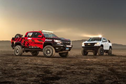 Chevrolet Colorado ZR2 AEV concept y ZR2 Race Development Truck