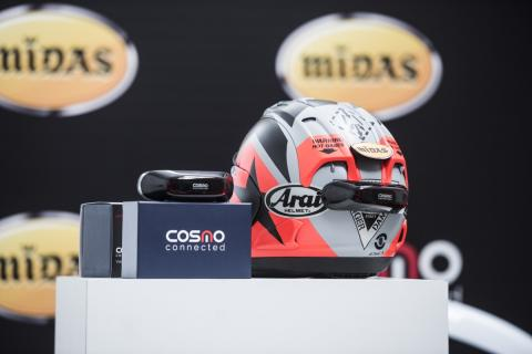 Cosmo Connected, accesorio para motoristas que mejora tu seguridad