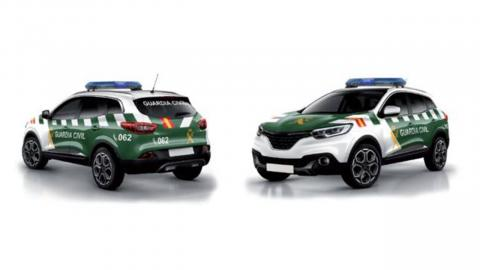 diseño coches guardia civil