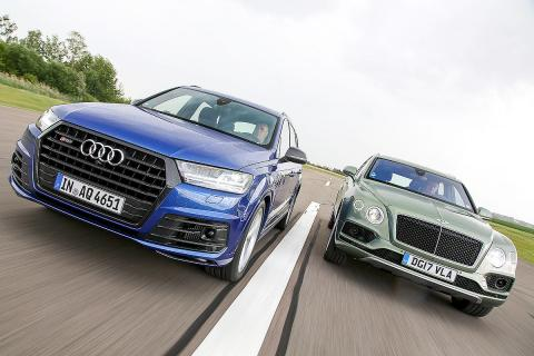 Entrentamos al Bentley Bentayga Diesel vs Audi SQ7 TDI