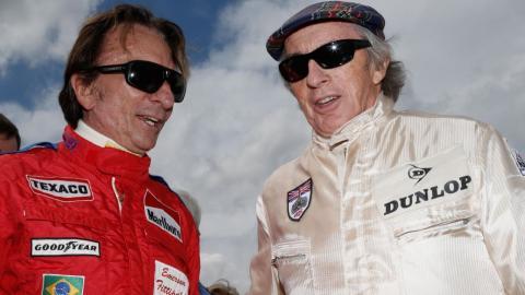 Fittipaldi y Stewart