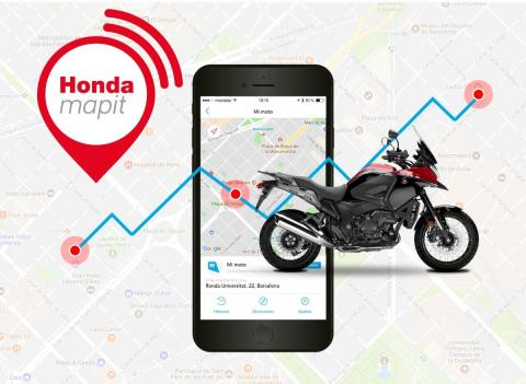 Honda Mapit: un sistema que te dice dónde está tu moto en caso de robo