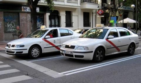 Huelga de taxis 29N