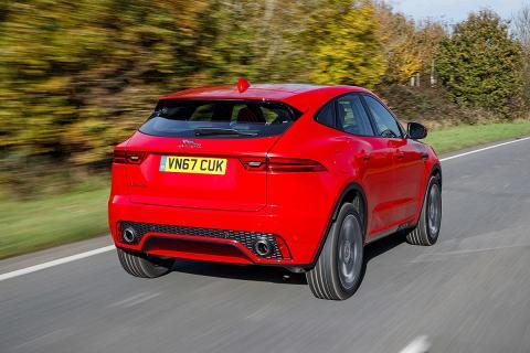 Prueba del Jaguar E-Pace