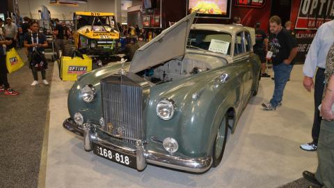 Rolls-Royce Silver Cloud Derelict