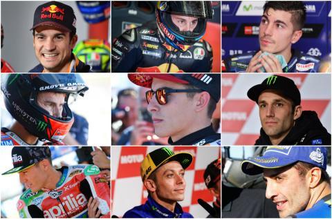 Rumores sobre el mercado de fichajes para MotoGP 2019