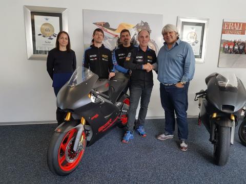 Suter deja Moto2, pero vuelve cinco días después