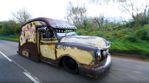 taxi londres rat rod