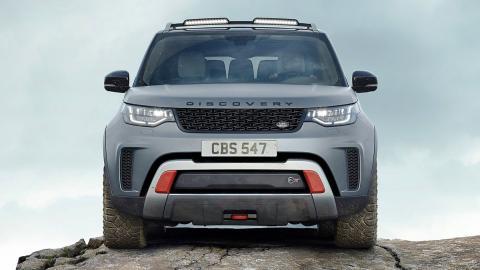 Todas las novedades del Salón del Automóvil de Los Ángeles 2017 - Land Rover Discovery SVX