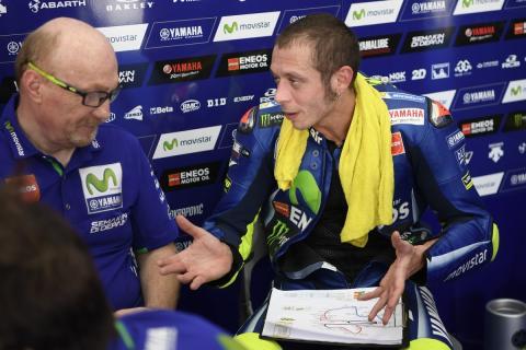 Valentino Rossi habla sobre Johann Zarco y la Yamaha 2017