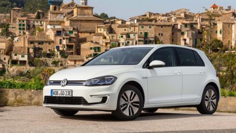 Volkswagen e-Golf - 190 km