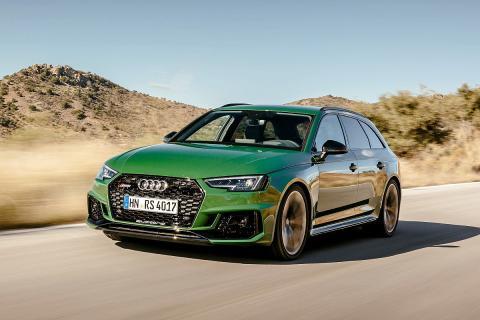 Audi RS 4 Avant 2018.
