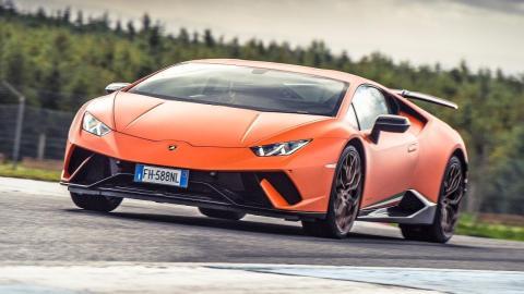 Chris Harris Lamborghini Huracán Performante