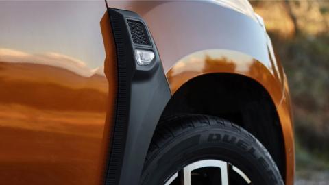 Dacia Duster 2018: toma de aire simulada