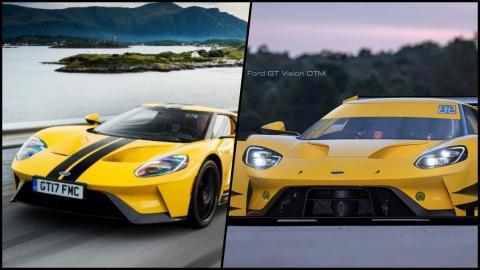 Ford GT y Ford GT DTM