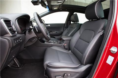 Interior del Kia Sportage