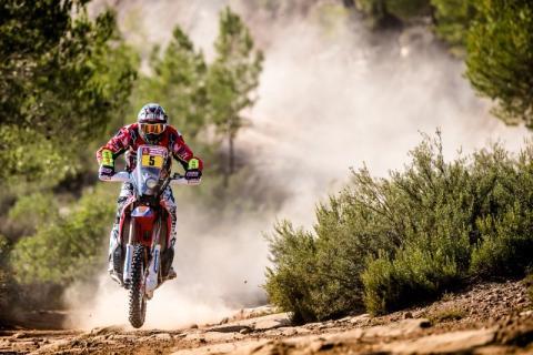 Joan Barreda - Favorito Dakar 2018 motos