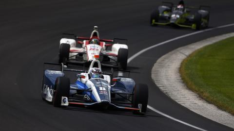 Max Chilton en las 500 Millas de Indianápolis