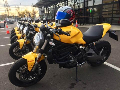 Prueba Ducati Monster 821