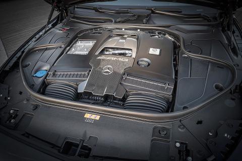 Prueba del Mercedes-AMG S 63 (2018)
