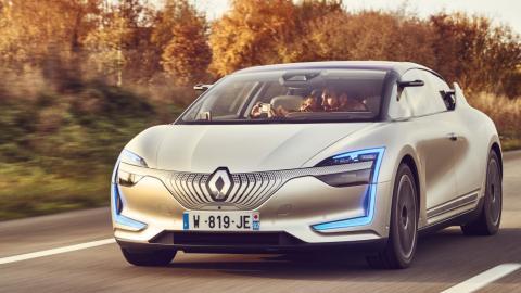 Renault Symbioz: delantera