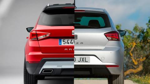 Seat Ibiza o Seat Arona utilitario compacto suv suv-b