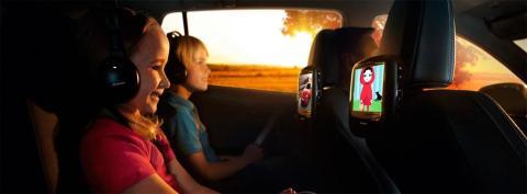 Sistema de entretenimiento trasero Toyota