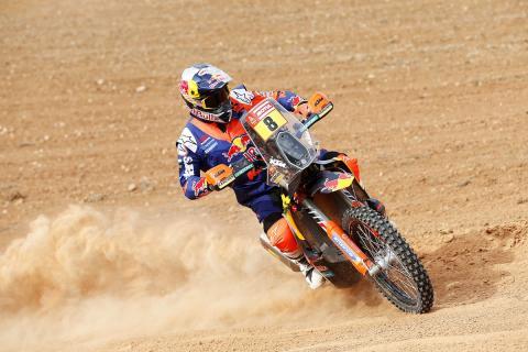 Toby Price - Favorito Dakar 2018 motos