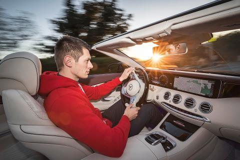 Al volante. Mercedes Clase S Cabrio 2018