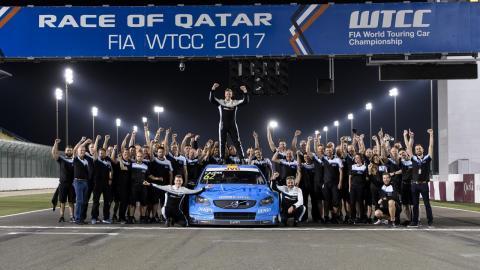 Volvo, campeón del WTCC