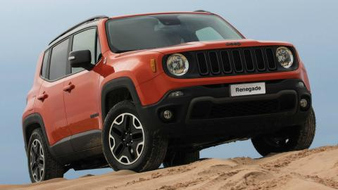 5 coches que no tenías ni idea de que son manuales: Jeep Renegade