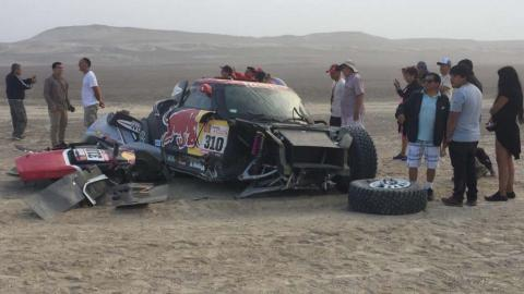 Accidente Bryce Menzies