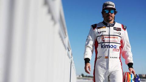 Alonso en el Circuito de Daytona