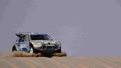 Anécdotas de Peugeot en el Dakar