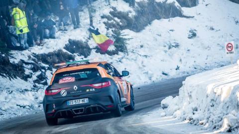 Carlos Sainz Montecarlo nieve