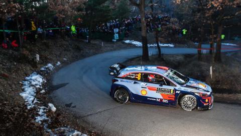 Dani Sordo WRC Montecarlo