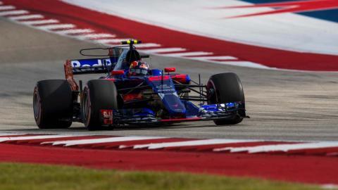 Daniil Kvyat F1 EEUU