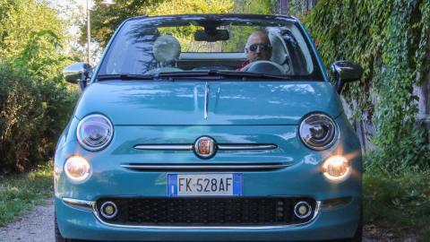 Fiat 500 C delantera
