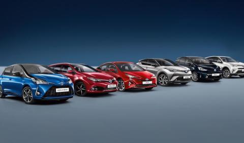 Gama Toyota híbridos